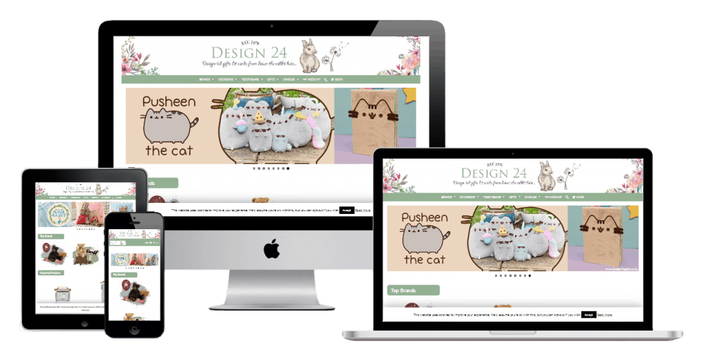 Design 24 Gifts Website
